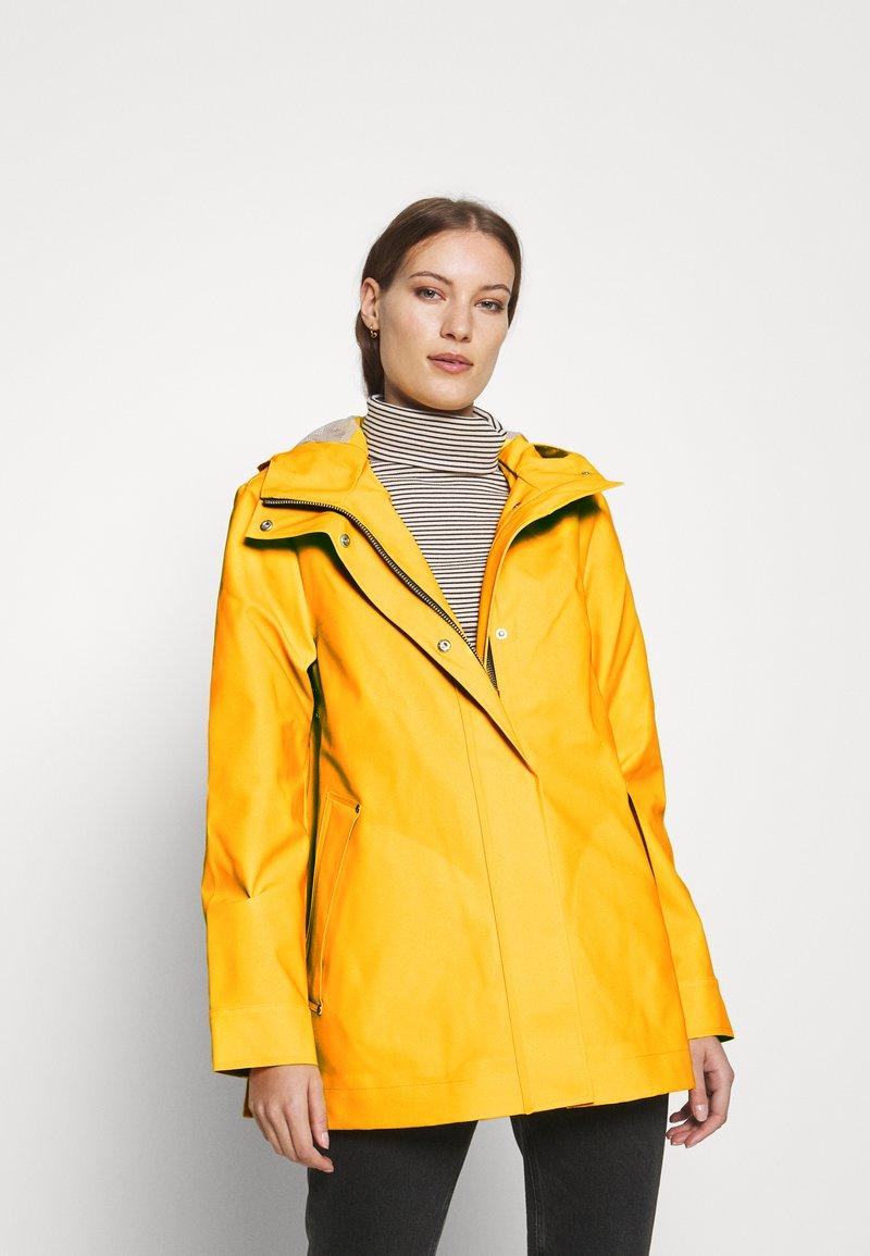 Hunter ORIGINAL - ORIGINAL SMOCK - Waterproof jacket - yellow
