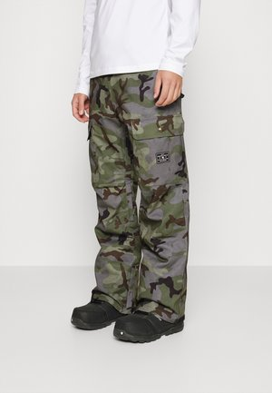 CODE PANT - Pantaloni da neve - green