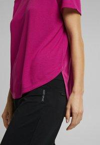 Esprit Sports - MIT LOGO-PRINT - Print T-shirt - pink - 4