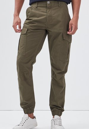 Pantaloni cargo - vert kaki