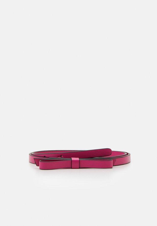 SANDIE BOW BELT - Belt - glossy pink