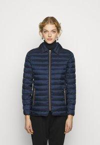 Lauren Ralph Lauren - MATTE FINISH SHORT JACKET - Light jacket - navy - 0