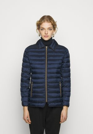 MATTE FINISH SHORT JACKET - Light jacket - navy