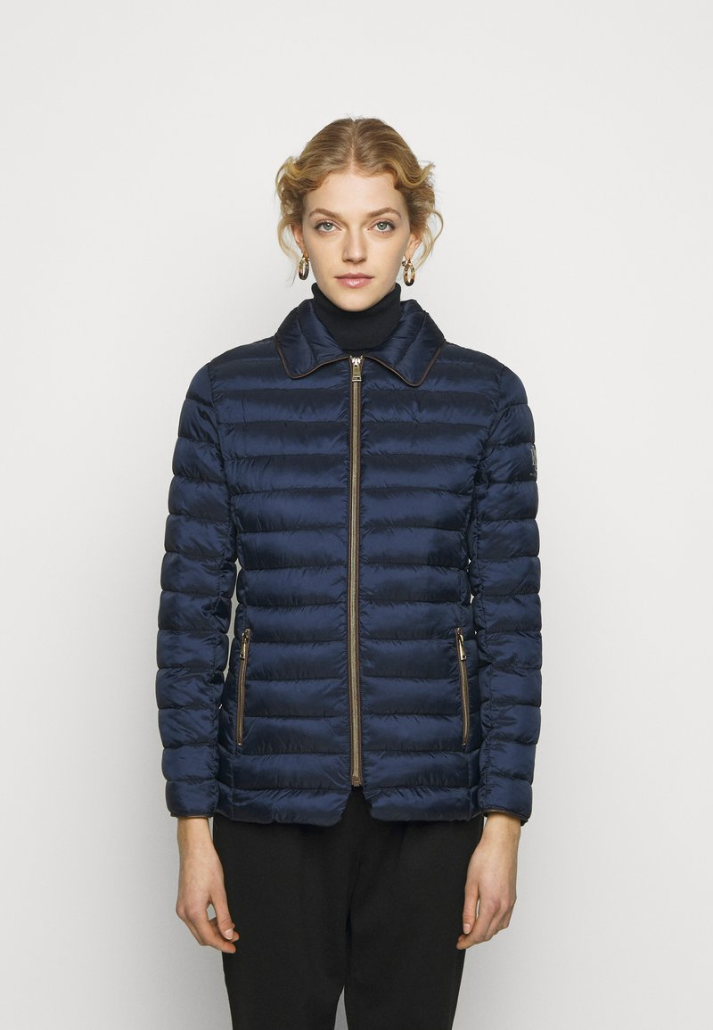 Lauren Ralph Lauren - MATTE FINISH SHORT JACKET - Light jacket - navy