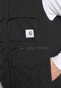 Carhartt WIP - COLEWOOD VEST - Waistcoat - black - 5
