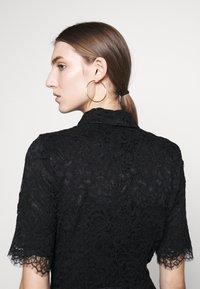 Elisabetta Franchi - Skjortklänning - nero - 4
