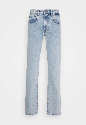 FIVE POCKET PALE - Jeans straight leg - baby blue