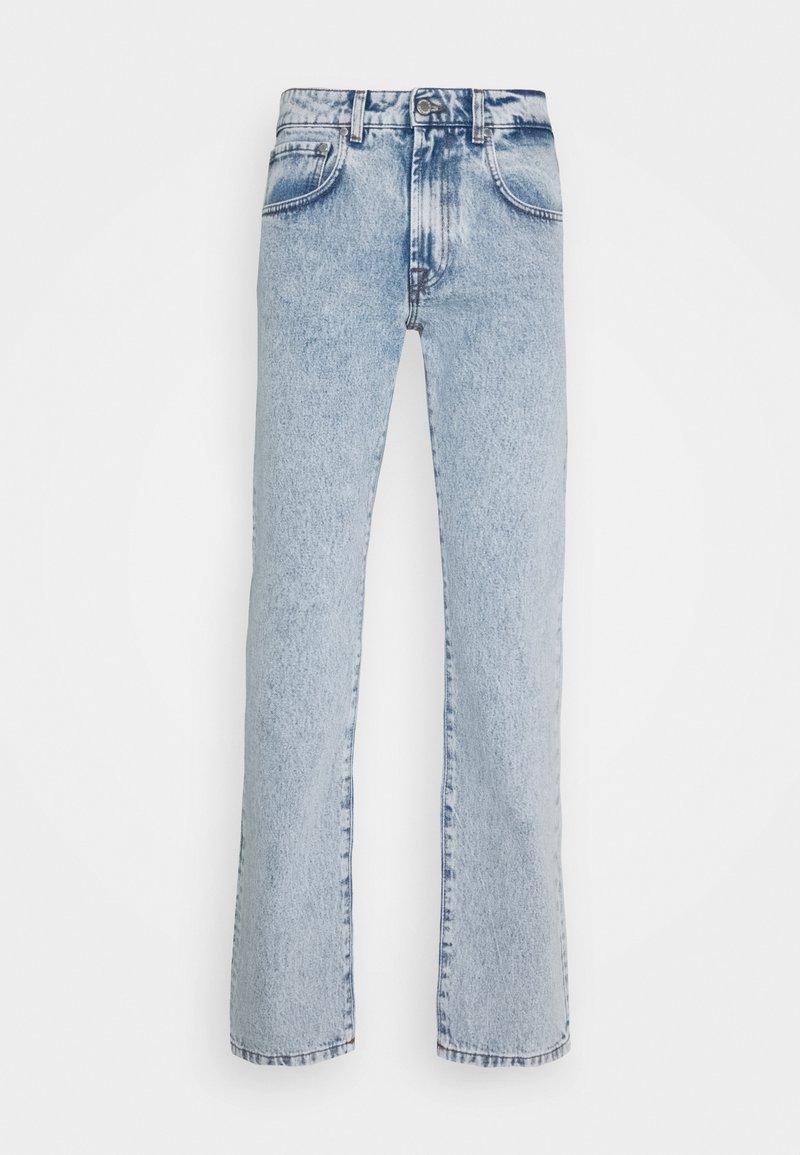 Trussardi - FIVE POCKET PALE - Straight leg jeans - baby blue