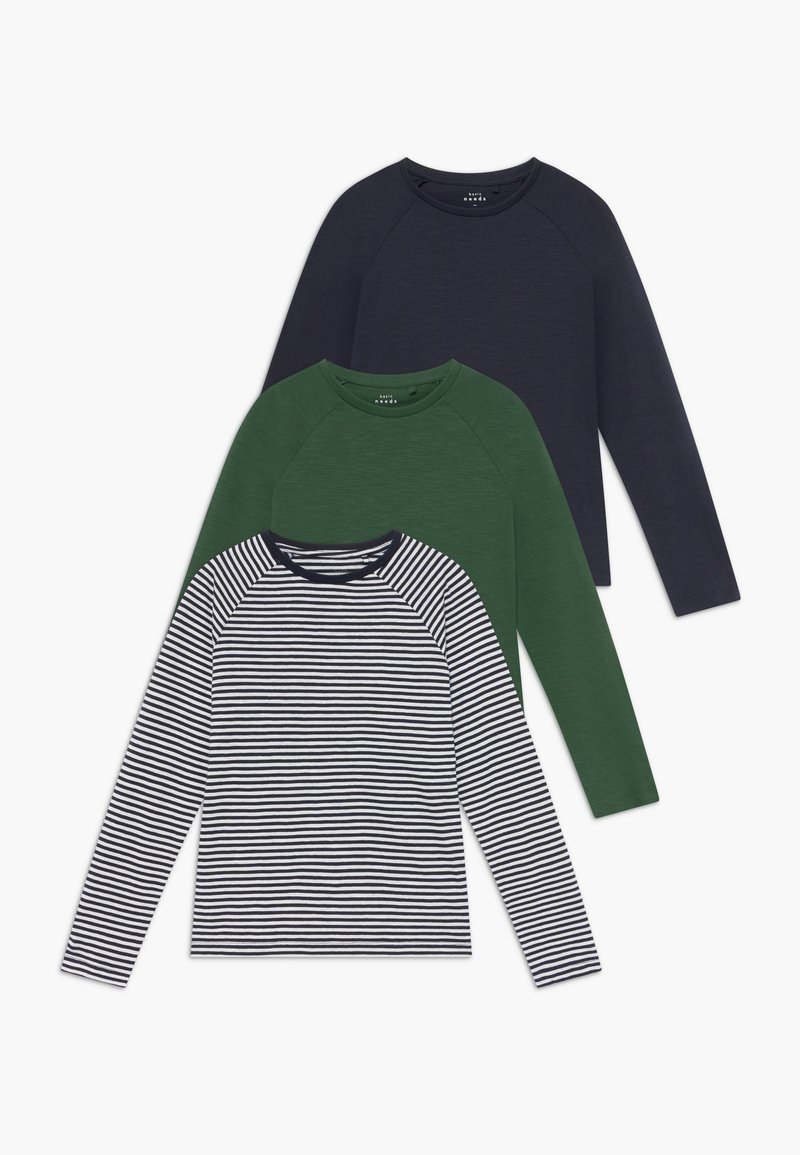 Name it - NKMVALON  3 PACK  - Long sleeved top - green pastures/bright white