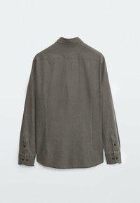 Massimo Dutti - Shirt - metallic grey - 4