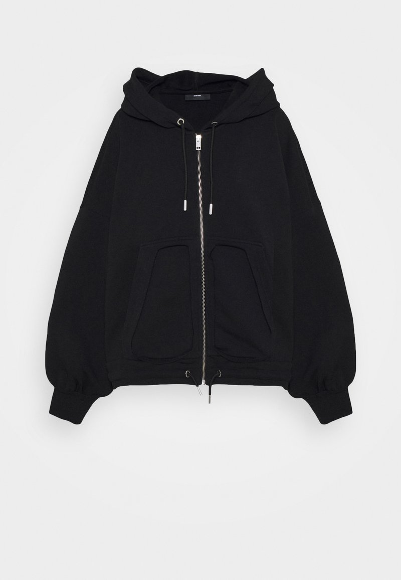 Diesel - BILLY LOGO - Zip-up hoodie - black