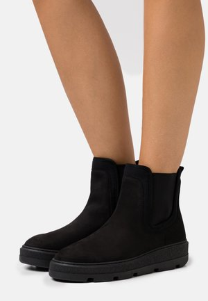 FLEET - Platform ankle boots - black