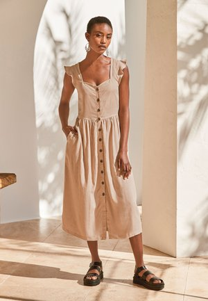 Shirt dress - off-white