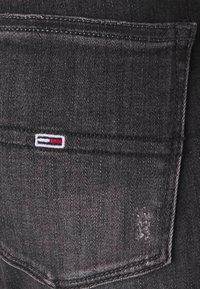 Tommy Jeans - SYLVIA HR SUPER SKNY RBSTD - Jeans Skinny Fit - rudy black - 6