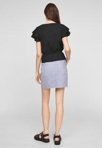 Q/S designed by - Print T-shirt - black - 2