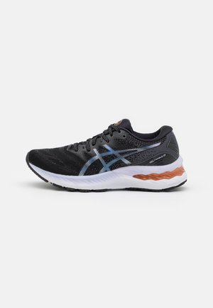 GEL NIMBUS 23 - Chaussures de running neutres - black/carrier grey