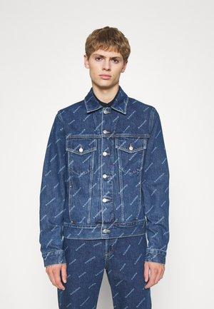 DIAGONAL - Denim jacket - blue vintage