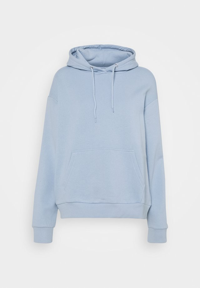 BASIC - Oversized hoodie with pocket - Hoodie - blue