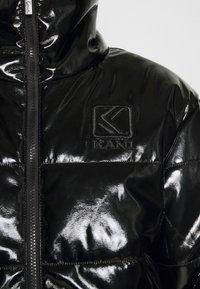 Karl Kani - OG GLOSSY PUFFER JACKET  - Winter jacket - black - 5