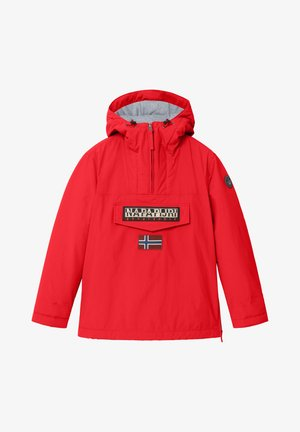 RAINFOREST WINTER - Winter jacket - red tango