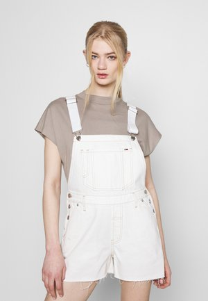 DUNGAREE - Latzhose - white