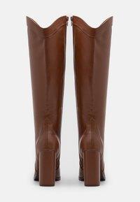 Wallis - PUDDING - High heeled boots - tan - 3