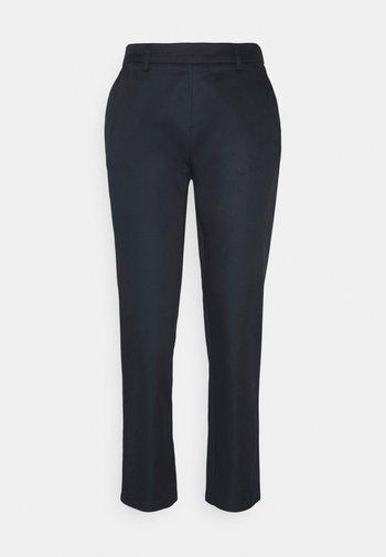 BASIC - Chino - Trousers - dark blue