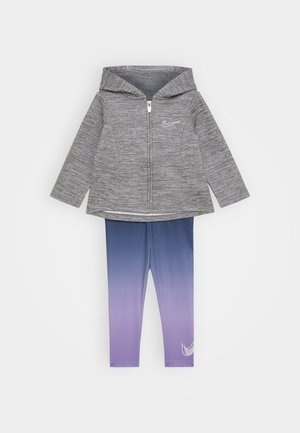 THERMA SET - Sweatjacke - violet star
