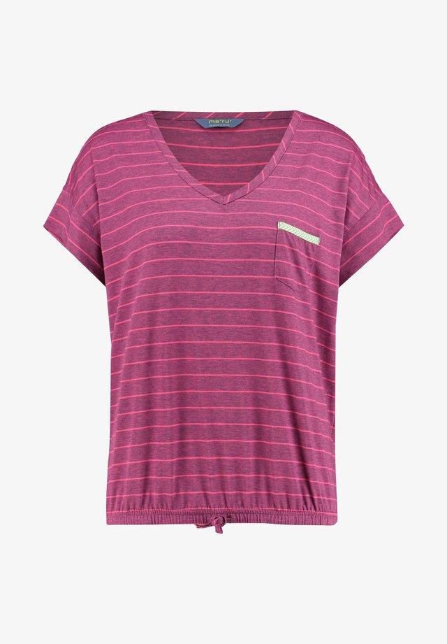"""WINDHOEK""  - Print T-shirt - pink"