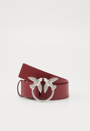 BERRY SIMPLY BELT - Pásek - dark red