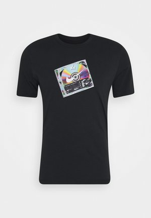 TEE MUSIC CD - Print T-shirt - black