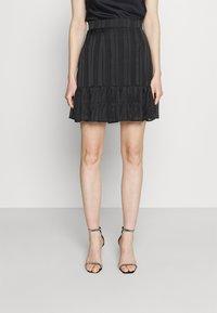 Guess - CHIKA SKIRT - Mini skirt - jet black - 0