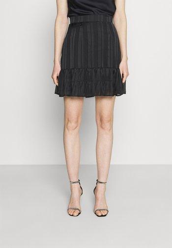 CHIKA SKIRT - Mini skirt - jet black