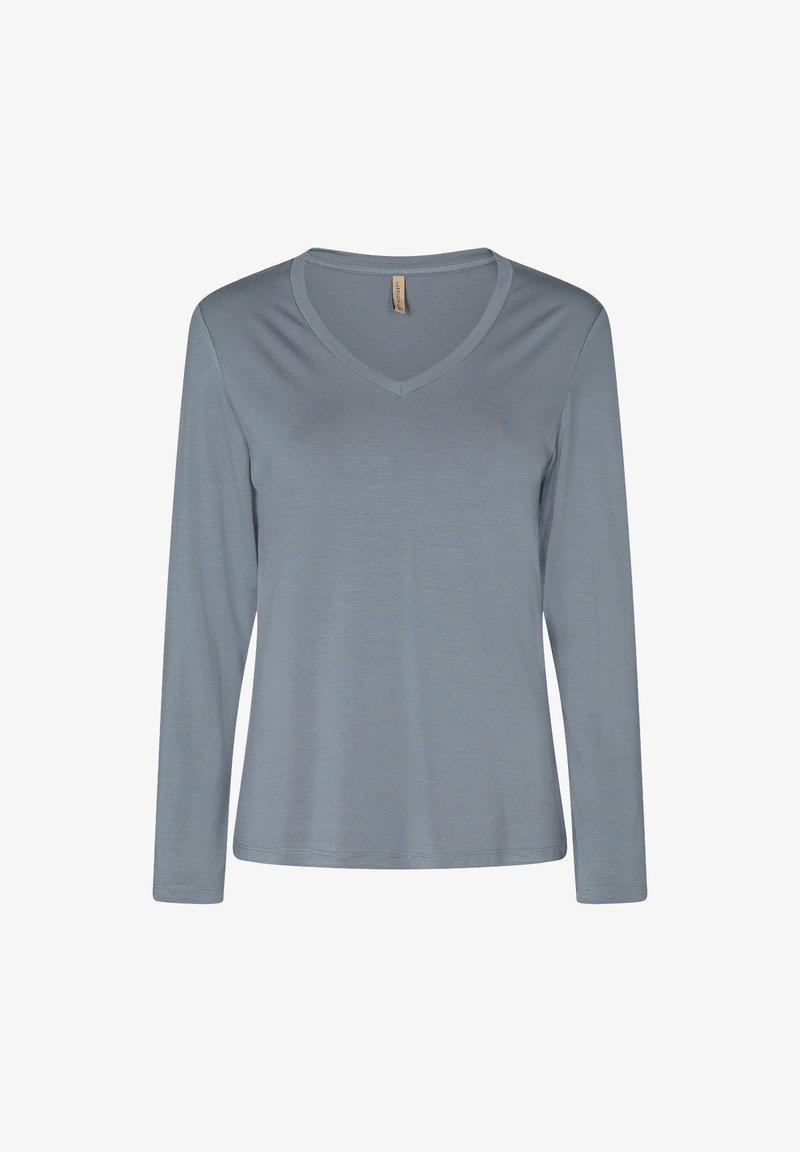 Soyaconcept - MARICA - Long sleeved top - ocean blue