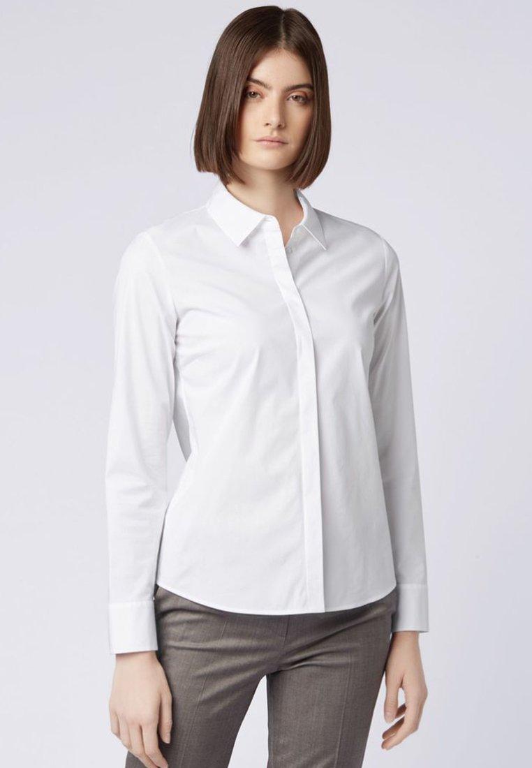 BOSS - BANEW - Button-down blouse - white