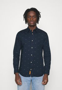 Jack & Jones - JORTONS DITSY - Camisa - navy blazer - 0