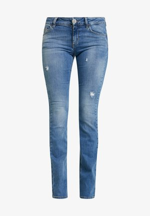 UP REPOT REG - Bootcut jeans - denim blue clear wash