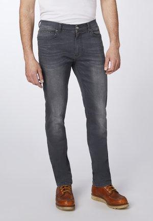 Straight leg jeans - black used