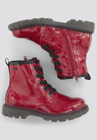 TOM TAILOR - Lace-up ankle boots - red - 1