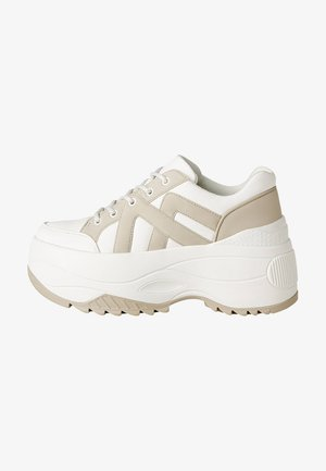 MIT XL-SOHLE - High-top trainers - off-white/beige
