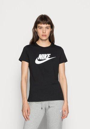 TEE ICON FUTURA - Camiseta estampada - black/(white)