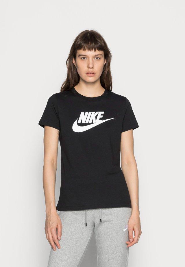 TEE ICON FUTURA - Print T-shirt - black/(white)