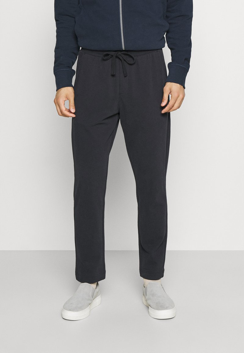 Marc O'Polo - FRONT AND BACK POCKETS - Tracksuit bottoms - phantom fear
