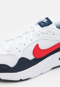 Nike Sportswear - AIR MAX SC UNISEX - Trainers - white/university red/obsidian - 5