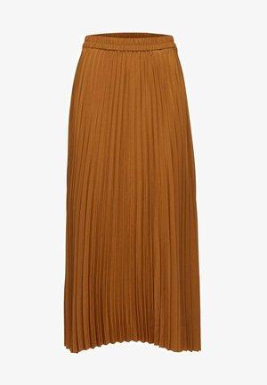 SLFALEXIS SKIRT - A-line skirt - bronze brown