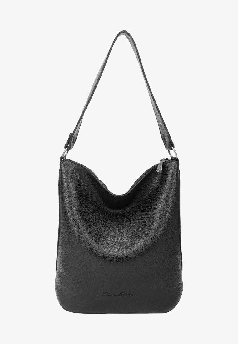 Fritzi aus Preußen - TASCHEN/RUCKSÄCKE/KOFFER ARIA SUMMER - Across body bag - black