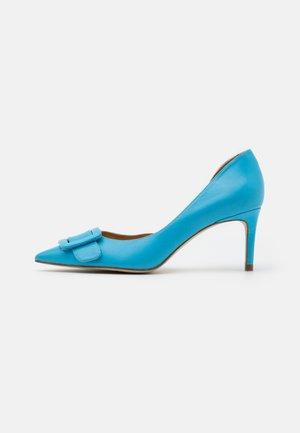 Escarpins - clear blue