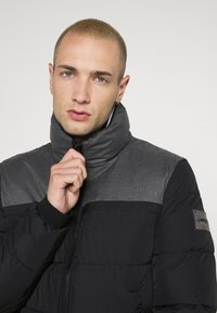 Calvin Klein - OPTIC MIX JACKET - Winter jacket - grey - 5
