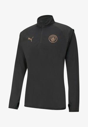 CITY WARM-UP - Sweatshirt - puma black-copper