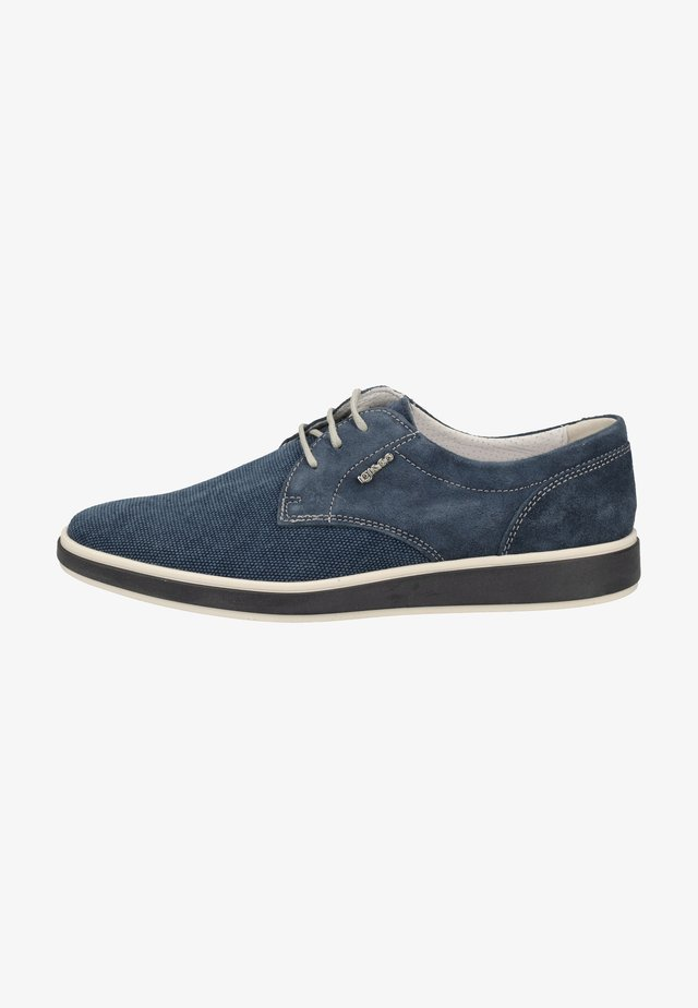 Casual lace-ups - light blue